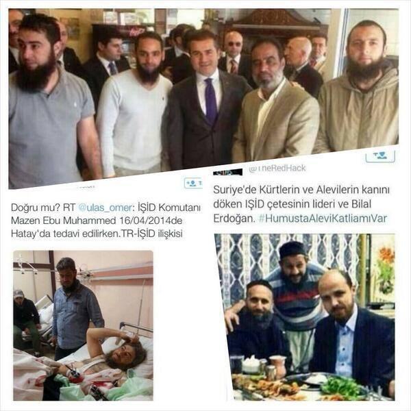 Τουρκικά μέσα δικτύωσης που δείχουν τον μακελάρη της Συρίας με τον γιό του Ερντογάν, Μπιλάλ