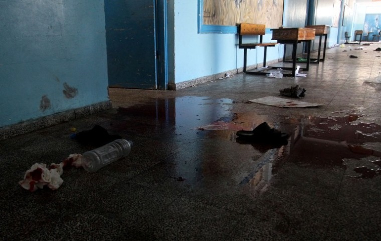 σχολείο στη Γάζα...