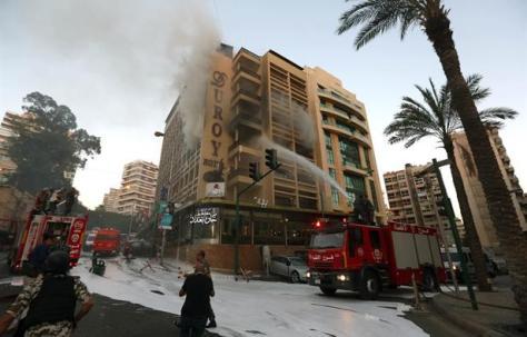 H αποτυχημένη επίθεση αυτοκτονίας στο ξενοδοχείο Duroy Βηρυττός