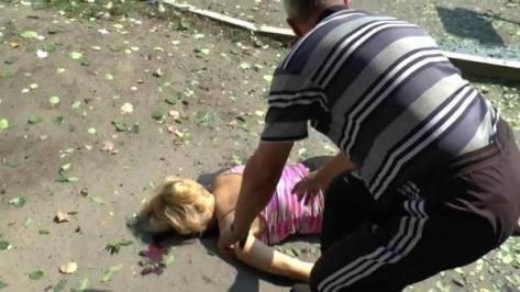 Λουγκάνσκ και αυτές οι εικόνες δεν ενοχλούν τους υπερασπιστές του Διεθνούς Δικαίου.
