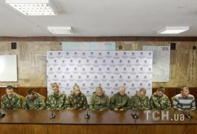 οι αιχμάλωτοι ρώσοι στο Κιέβο