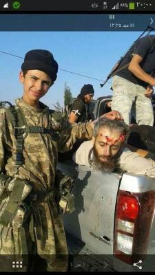 το παιδί στρατιώτης του Ισλ.Κράτους