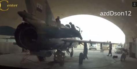 από την αεροπορική βάση που κατέλαβαν οι τζιχαντιστές του Ισλαμικού Κράτους στη Συρία