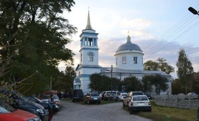 η εκκλησία στην περιφέρεια του Κιέβου που θέλησαν να δημεύσουν