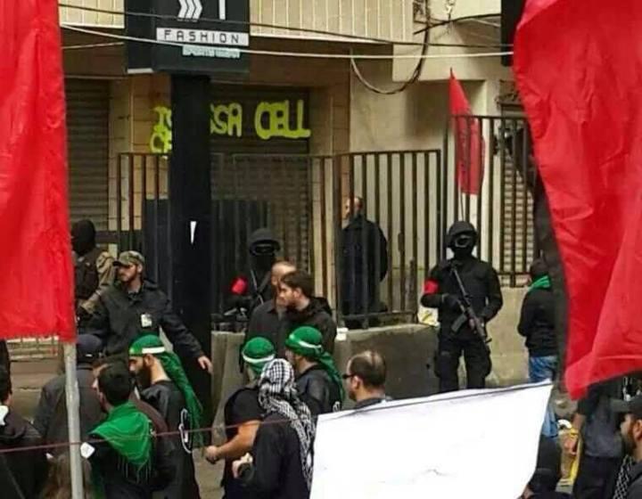 Για πρώτη φορά εμφανίστηκαν οι ειδικές δυνάμεις της Χεζμπολλά