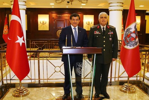 Ο Νταβουτογλου ανησυχεί για την διαφαινόμενη επανάκτηση του Χαλεπίου και την τύχη των Ισλαμιστών