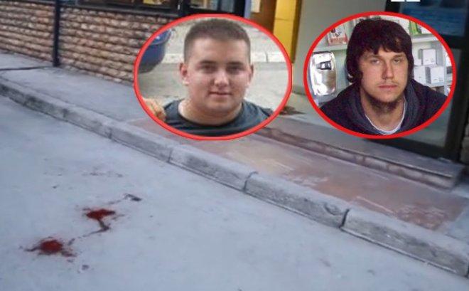 αριστερά ο τρομοκράτης Ίμπριτς και δεξιά ο καθοδηγής του Χασάνοβιτς