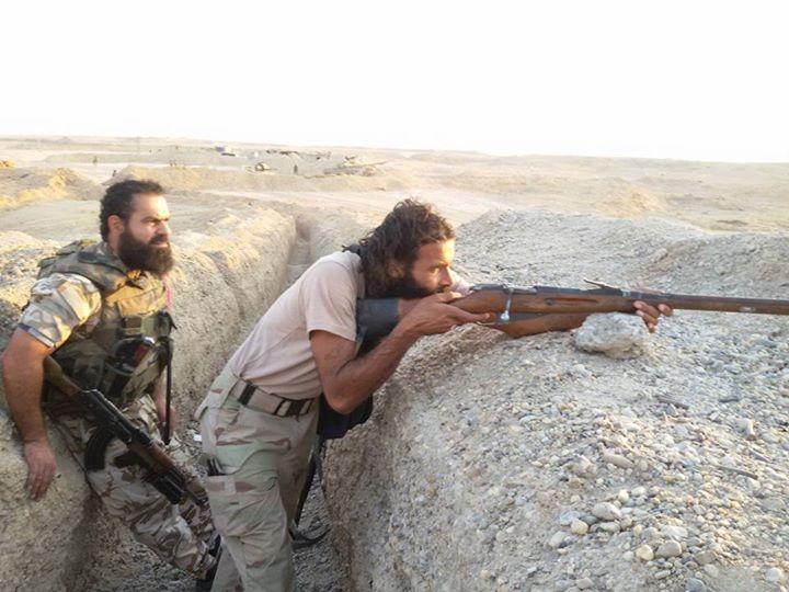 Le Martyr Abdel Bassit Al Mohamad, commando du general Zahredin , operant a Deir Ezor