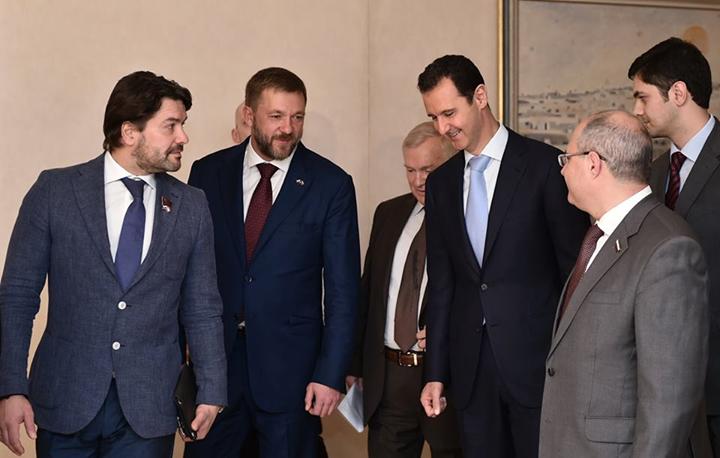 Άσαντ: η επιτυχία της ρωσικής επέμβασης ξεπέρασε τα αναμενόμενα.