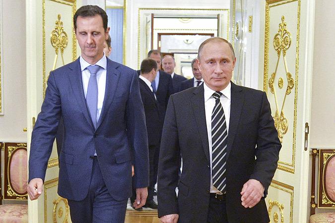 Η ιστορική συνάντηση Πούτιν Άσαντ στη Μόσχα