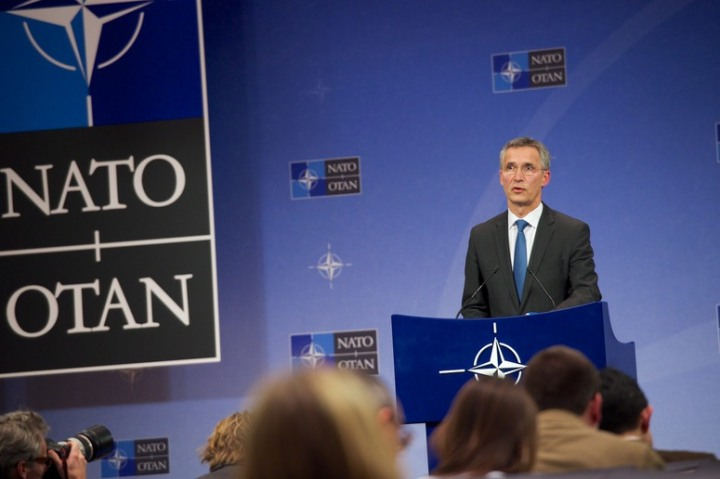 NATO Secretary General during his press conference