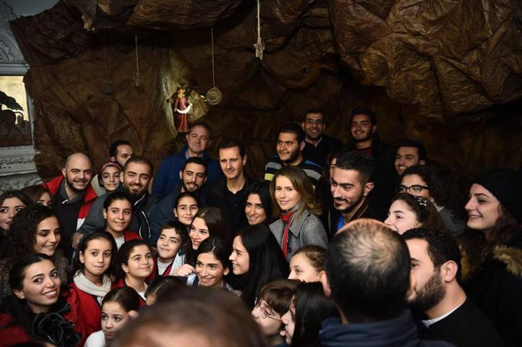 ΙΣΤΟΡΙΑ ΓΡΑΦΕΙ Η ΔΑΜΑΣΚΟΣ, Άσαντ ο παγκόσμιος στυλοβάτης της χριστιανοσύνης