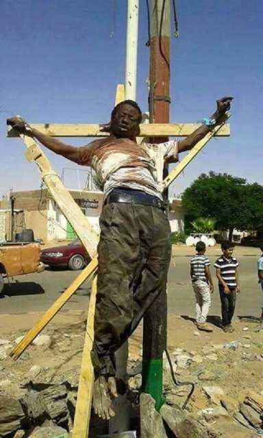 Man-Crucified