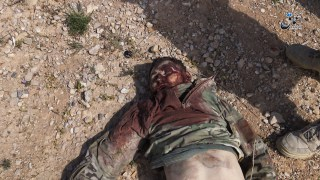 corpse-and-equipment-of-russian-military-advisor-killed-by-islamic-state-fighters-near-palmyra-homs-countryside