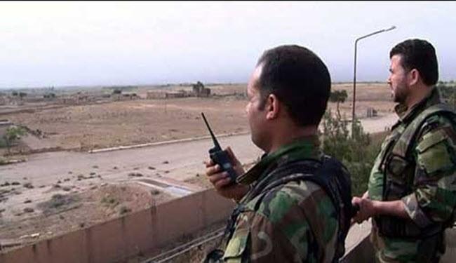 اسلحة اسرائيلية بقبضة الجيش السوري بالسويداء