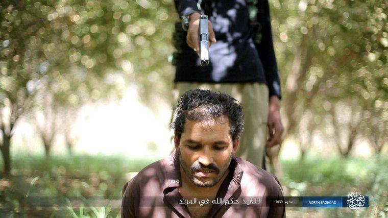 H ISIS εκτελεί άνδρα ως κατάσκοπο στα Β της Βαγδάτης.
