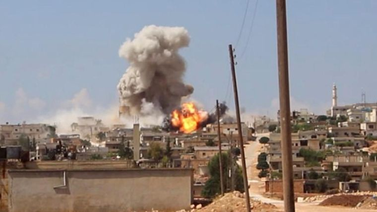 Eleven terrorists were killed in Idlib, including British experts.