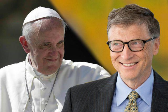 Γκέιτς και Πάπας: Η κοινή τους απαίτηση για καθολικό εμβολιασμό κατά covid19…
