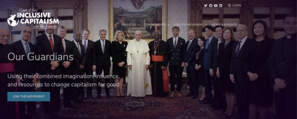 Το Βατικανό σε «Παγκόσμια Συμμαχία» με τους Rothschild, το Ίδρυμα Rockefeller και μεγάλες τράπεζες για να δημιουργήσουν το Great Reset.