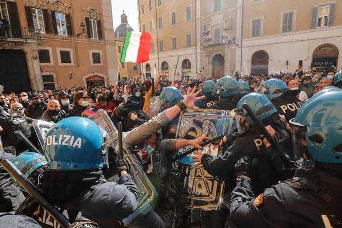 Ξύπνησε η λαϊκή Αίτνα στην Ιταλία. Ξεχείλισε η οργή κατά του Mario Dragon!!
